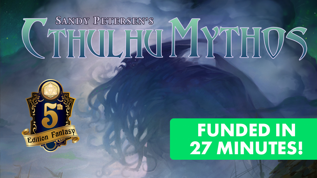 Sandy Petersen's Cthulhu Mythos for 5e miniatura de video del proyecto