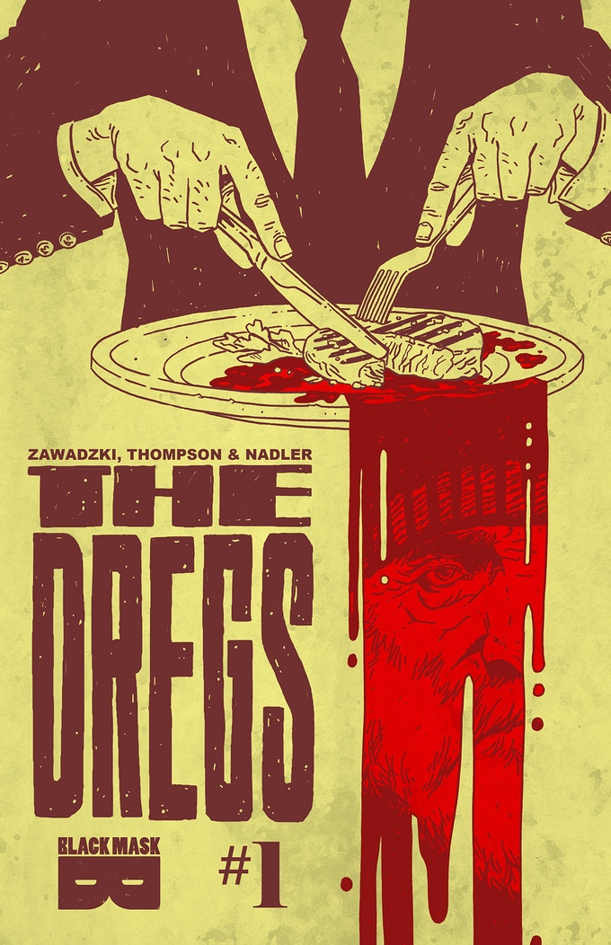 The Dregs 1-4 signed by Lonnie Nadler