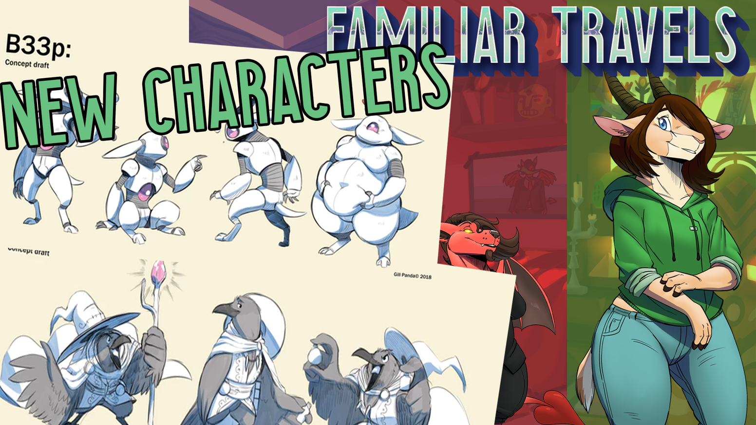 Familiar Travels is a graphic adventure amalgamation of classic point and  click adventures and modern visual