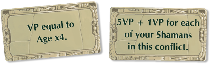 First, the player with the most strength in the conflict receives the altar bonus for that region.