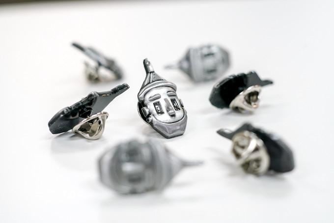 """Metal Lapel Pins (1"""" tall)"""