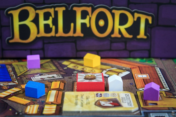 """Within Belfort beats the heart of one beast of a Euro game."" - Chris Kirkman, Dice Hate Me Games"