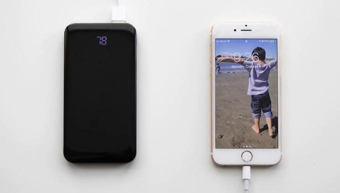 3X device charging. Standard USB Port.