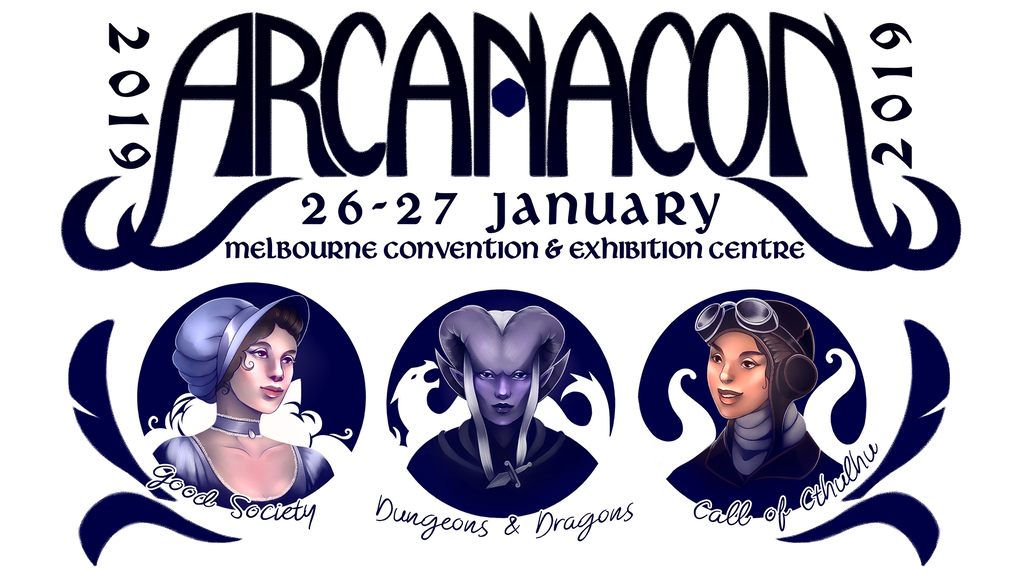 Arcanacon 2019 Games Convention project video thumbnail