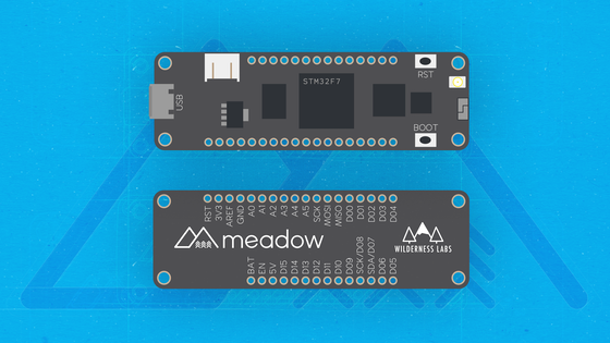 Meadow Full Stack Net Standard Iot Platform