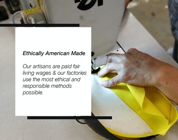 Our entire manufacturing process is both traceable and transparent.