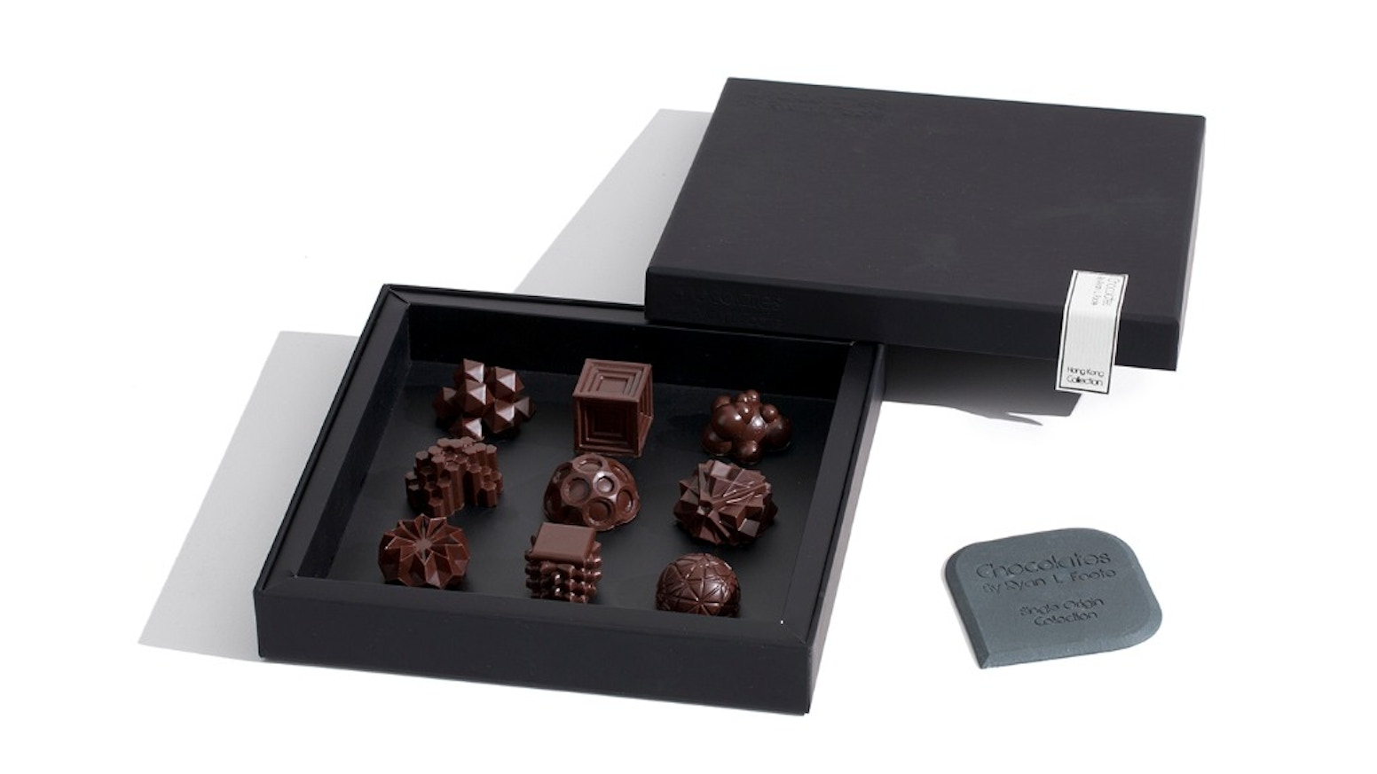 We have reinvented chocolates for the digital age,  by fusing 3D-printing and classic chocolatier techniques.