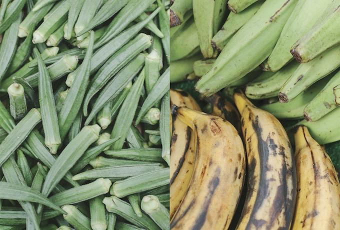 Okra, Green Banana & Plantain @ Peckham, S. London