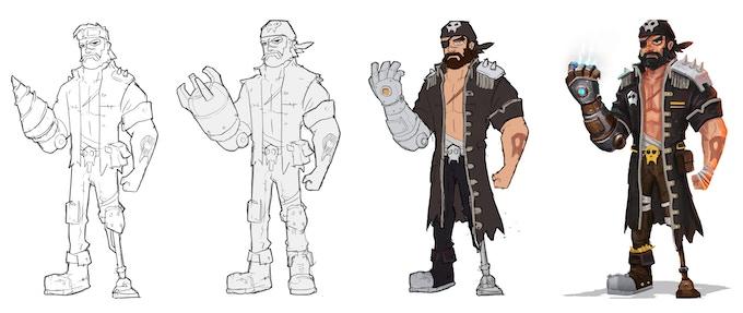 Character Development of Rick Everrusty
