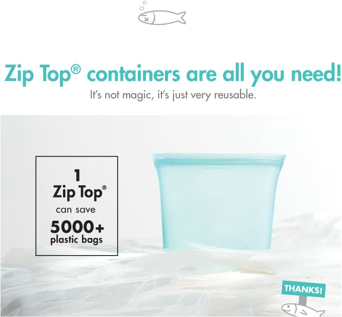 Zip Top 174 Reusable Containers Stand Up Stay Open Amp Zip