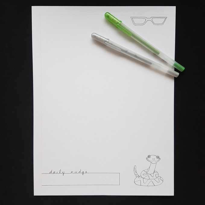Sample - right side page for creativity