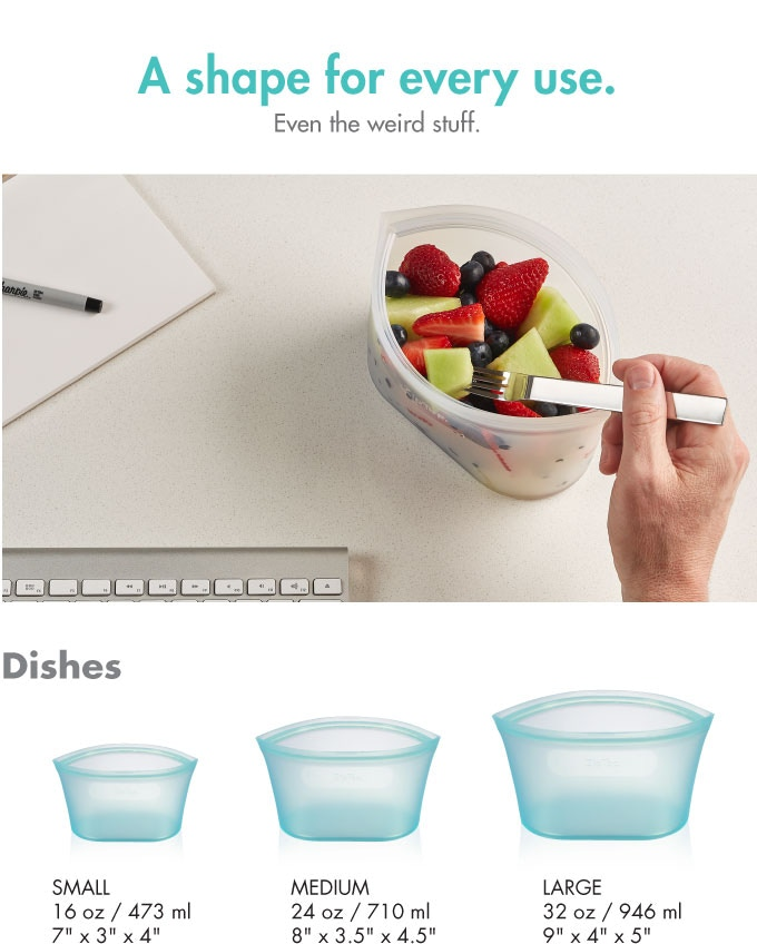 Silicone Zip Lock Container Meetyou6