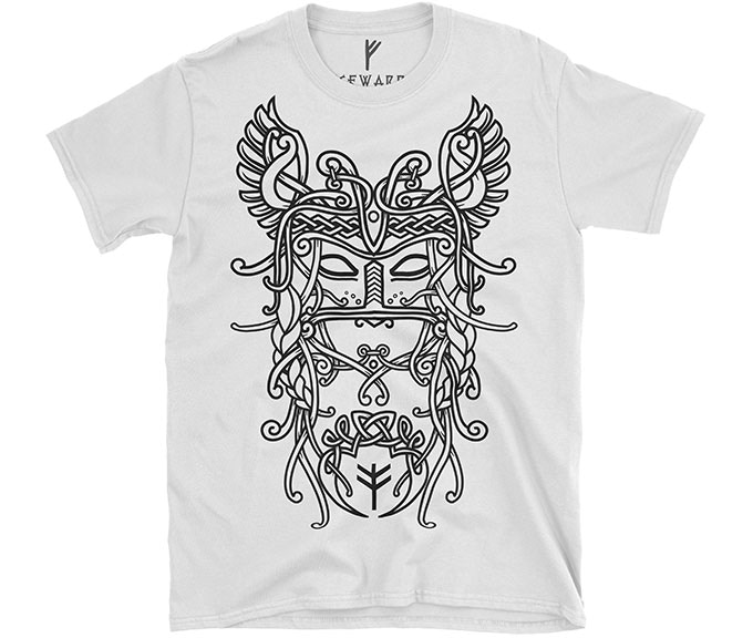 VIKING Inspired Clothing with Odin, Thor & Freyja [LIMITED] by