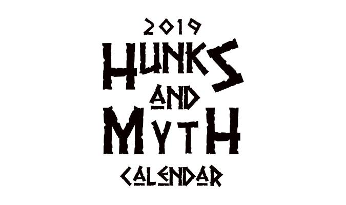 2019 Hunks Amp Mythology Calendar By Micah Weltsch Kickstarter