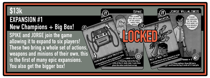 Box will hold: 4 player Game, Sole Survivor Card, Alt-Win Cards, and 2 Player Expansion Pack