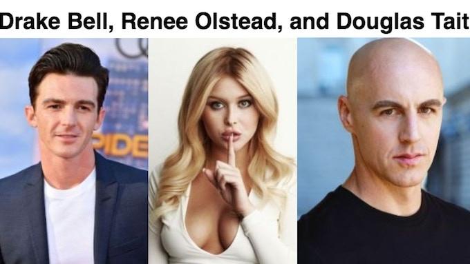 Drake Bell (Drake and Josh), Renee Olstead (The Secret Life of the American Teenager), and Douglas Tait (Star Trek).