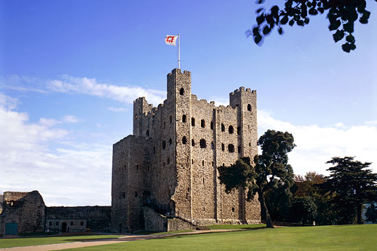 Inspiration: Rochester Castle in England