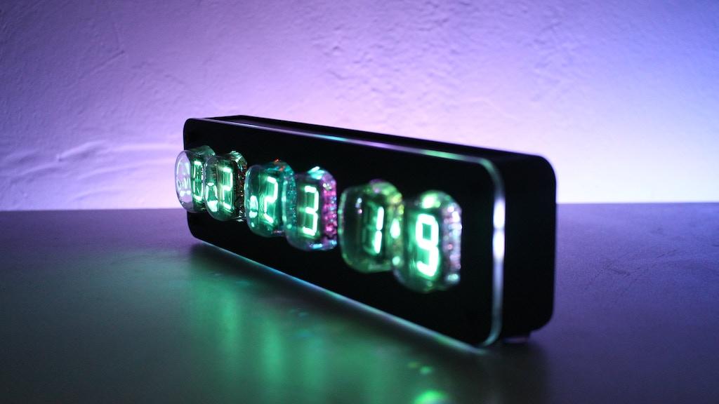 NIXT CLOCK - Retro Tube Clocks
