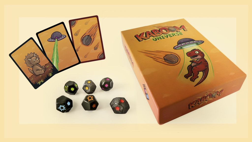 Kaboom Universe Tabletop Game - Save the Dinosaurs! project video thumbnail