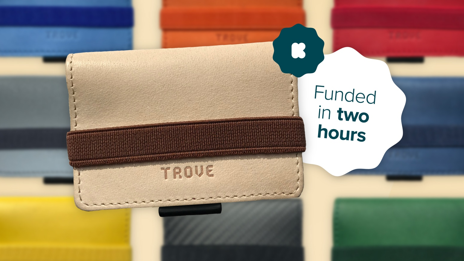 Funded in just 2 hours, the Ultimate Slim Wallet and card case is back with another innovative upgrade. Introducing the TROVE Cash Wrap. Reverse the Rules.