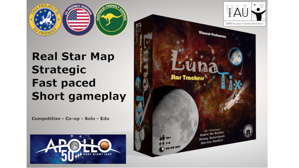 LunaTix: Star Trackers / Solar System / Lunar Lander