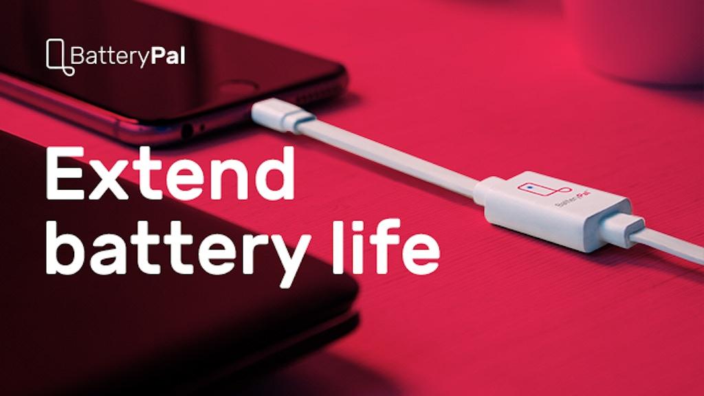 専用充電ケーブルでスマートフォンのバッテリー寿命を3倍以上に伸ばす「BatteryPal」