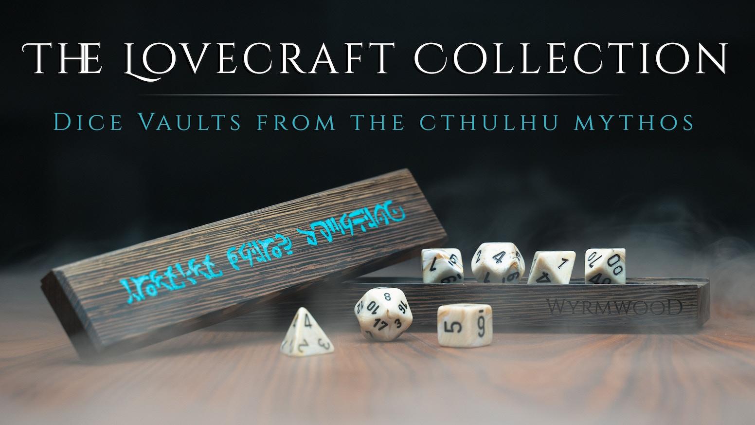 The Wyrmwood Dice Vault Cthulhu Mythos Edition By Wyrmwood Gaming