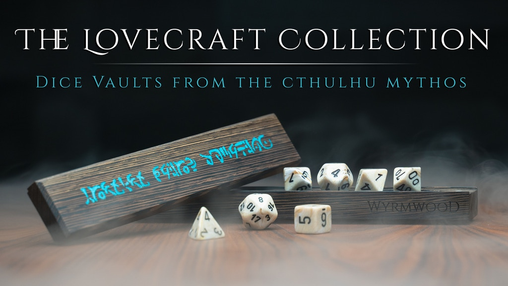 The Wyrmwood Dice Vault: Cthulhu Mythos Edition project video thumbnail