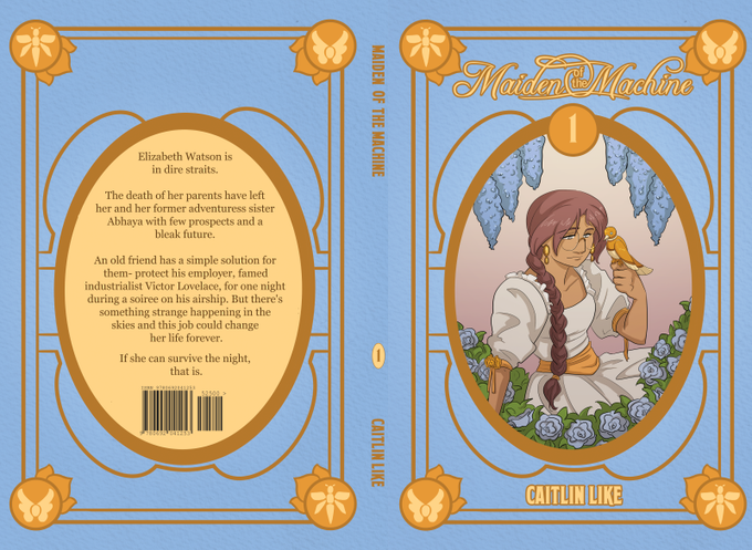 The finalized front and back cover!