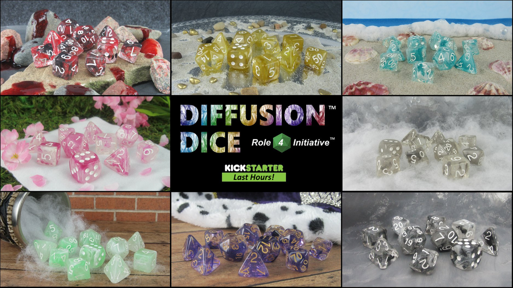 Diffusion™ Dice from Role 4 Initiative™ project video thumbnail