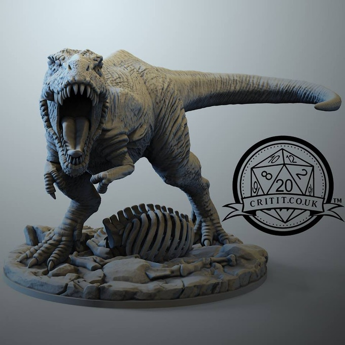 Add on this amazing t-rex to your existing pledge!
