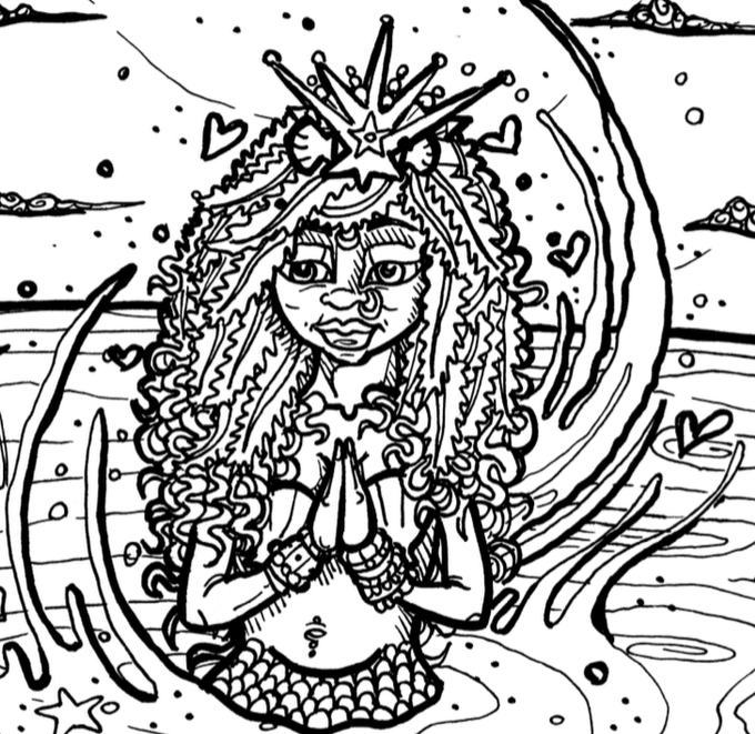 The Froga Origins A Fairytale Coloring Book Adventure By