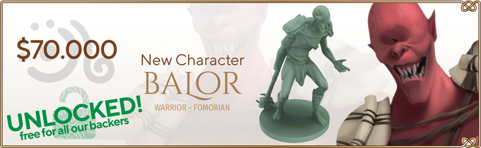 New character: Balor, warrior fomorian