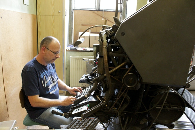 Christian, amazing next generation Linotype wizard
