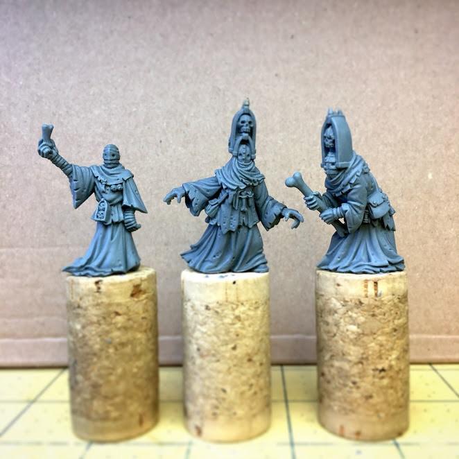 The original sculpts