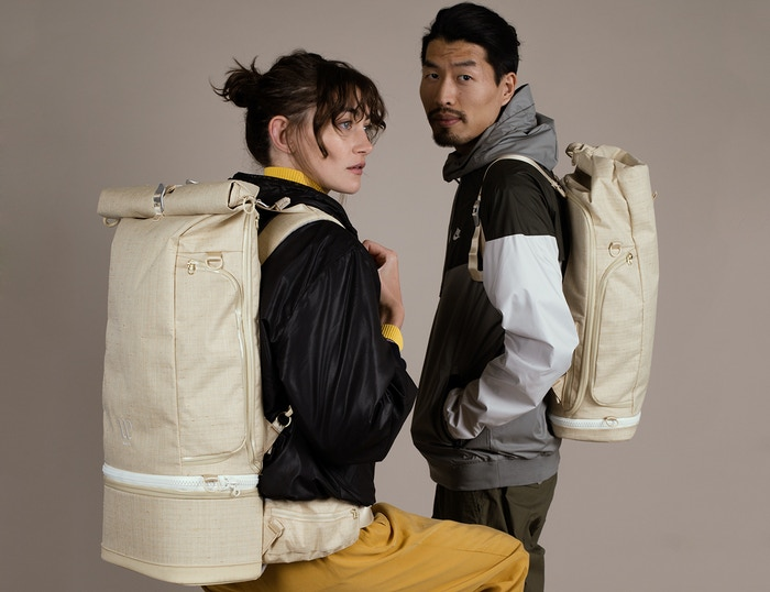 A sustainably made, modular backpack, that converts from a carry-on Travel Backpack into a smaller Day Pack + Camera / Cooler Bag