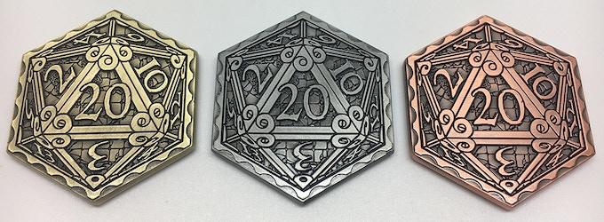 Antique Gold, Antique Silver, Antique Copper