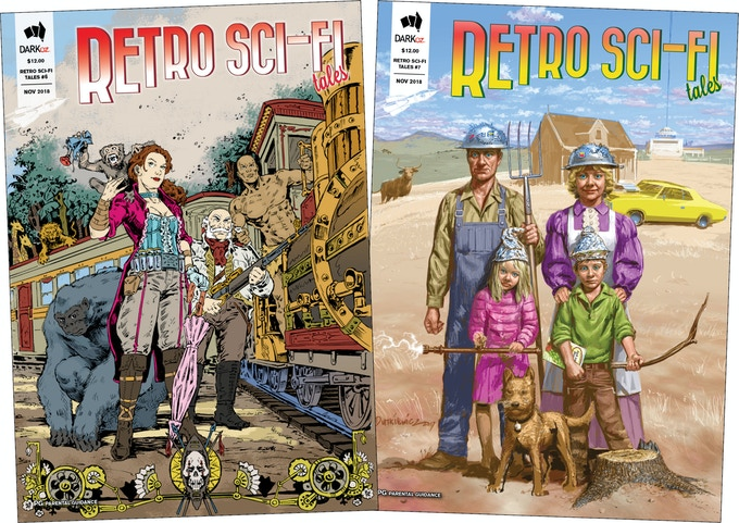Retro Sci-Fi Tales - issues 6 and 7