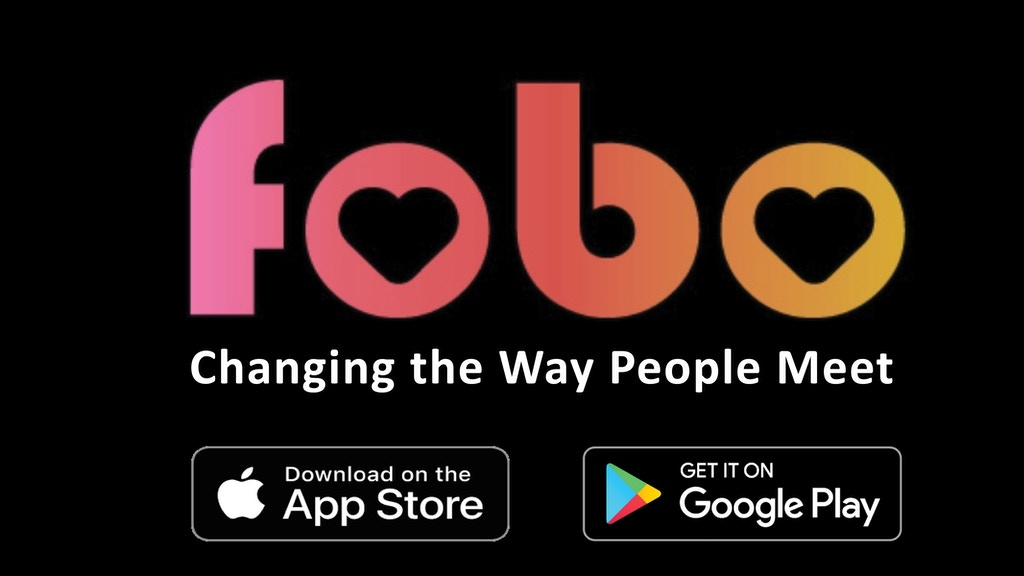 Fobo - Changing the way people meet.