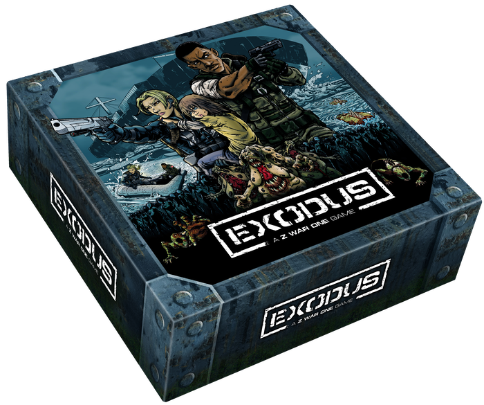 Exodus is a survival horror game for 1-5 players that combines intense tactical combat, resource management and a comic book narrative.