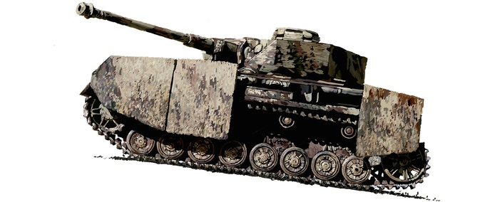 Panzer IV art for the Early Bird Exclusive