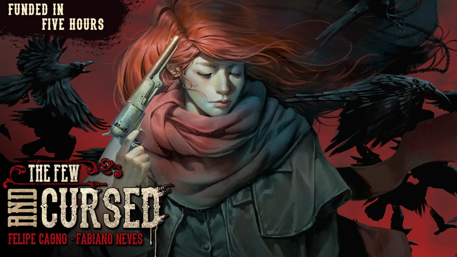 Join the Redhead in her hunt for The Crows of Mana'Olana in this epic supernatural western. Issues #1 thru #5 available in our store below: