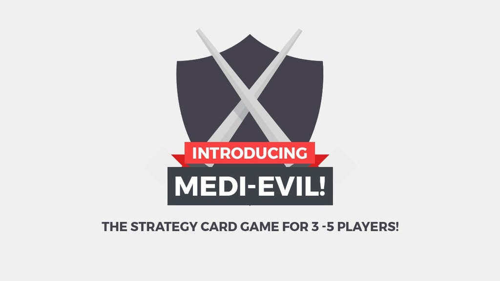 Medi-Evil the strategy Card Game project video thumbnail