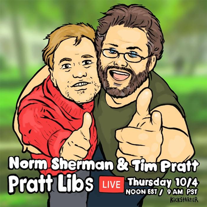 Link to Pratt Libs Kickstarter Live Stream