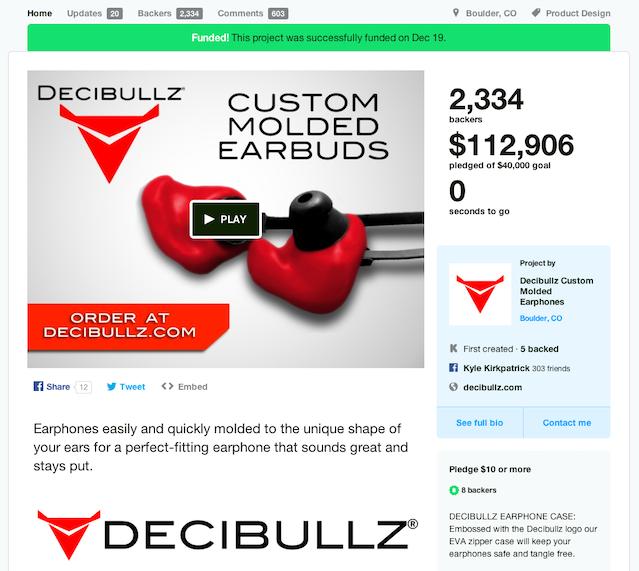Decibullz - The First Wireless Custom Molded Earbuds by
