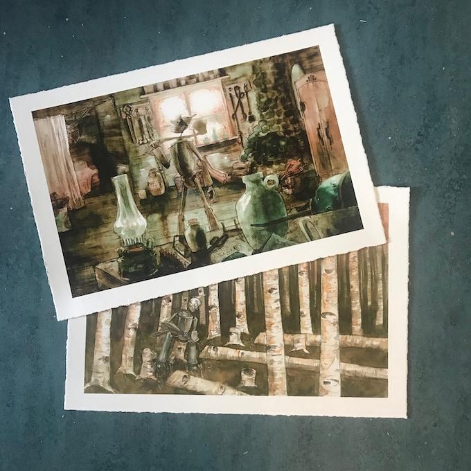"""Fine Art Prints (19' x 13"""")"""