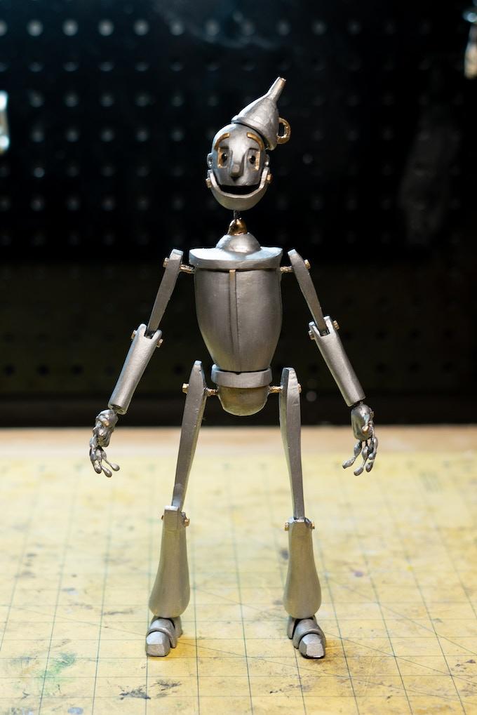 """Tin Woodman Puppet (12"""" tall)"""
