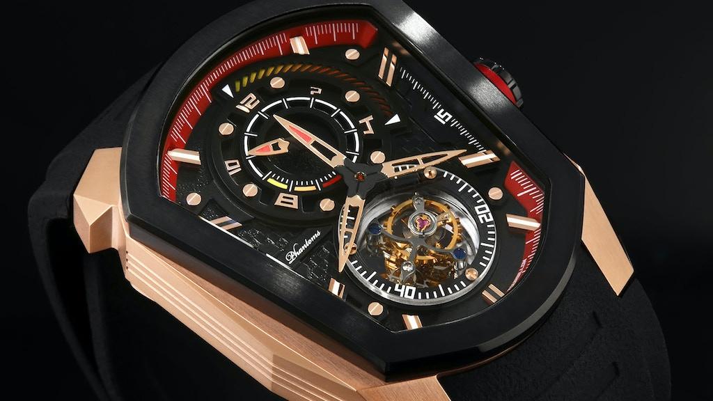 [Race Against Time] SpeedForce - Mechanical Tourbillon Watch project video thumbnail