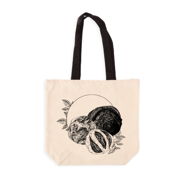 Bakery Grocery Tote Mock-Up