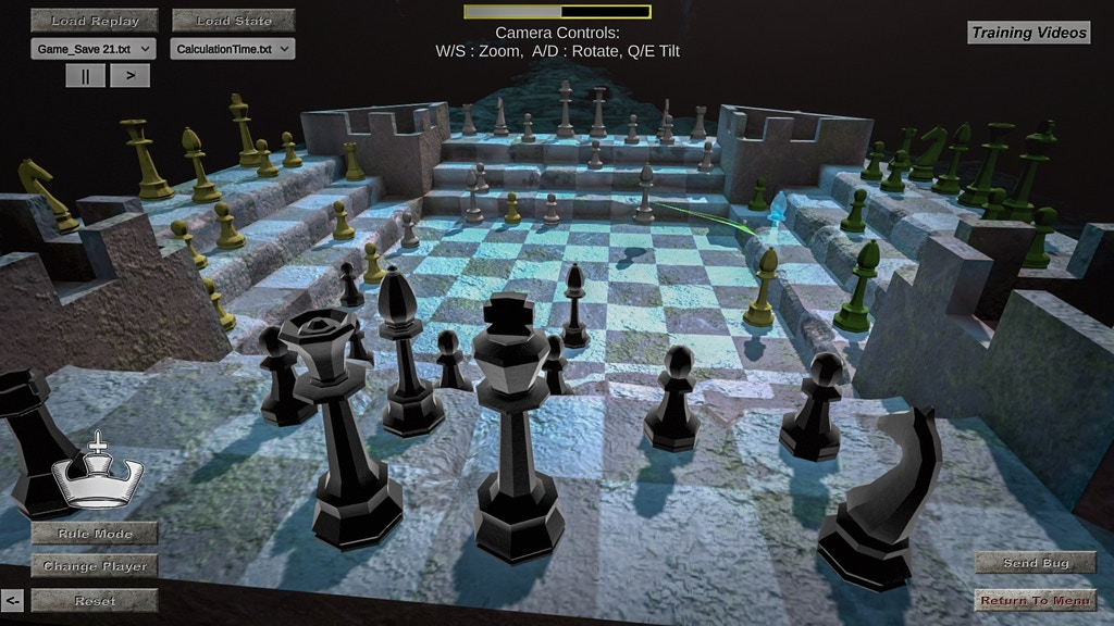 Four Kings One War: TWO player Strategy Game (VR,PC,Mac) project video thumbnail
